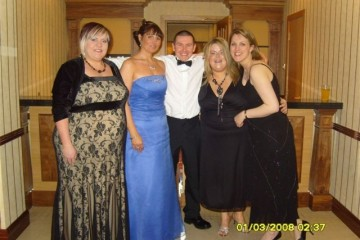 Speedy Gang at the recent Leap Year Charity Ball