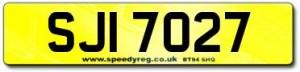 SJI Number Plates