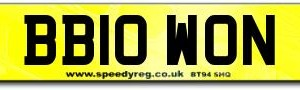 Big Brother Number Plates