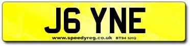 Jayne Number Plates