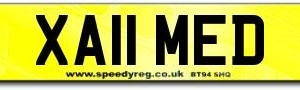 Ahmed Number Plates