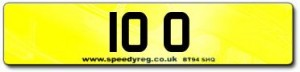 10 O Number Plates