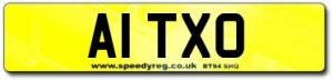 A1 Numberplates
