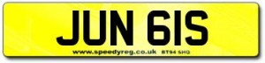 June Number Plates