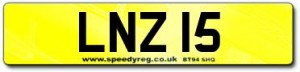 Lindsay'sNumber Plate