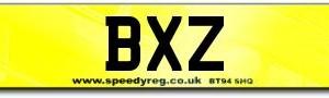BXZ Irish Number Plates