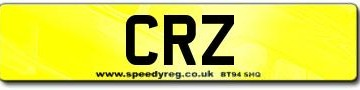 CRZ Registrations