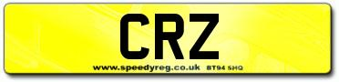 CRZ Registrations