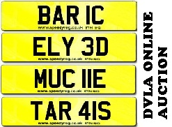 DVLA ONLINE AUCTION