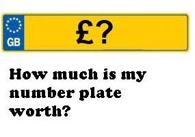 How much is my number plate worth?