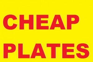 Cheap Plates