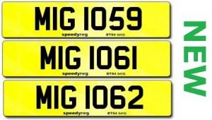 New MIG registrations