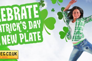 St Patrick's Number Plates