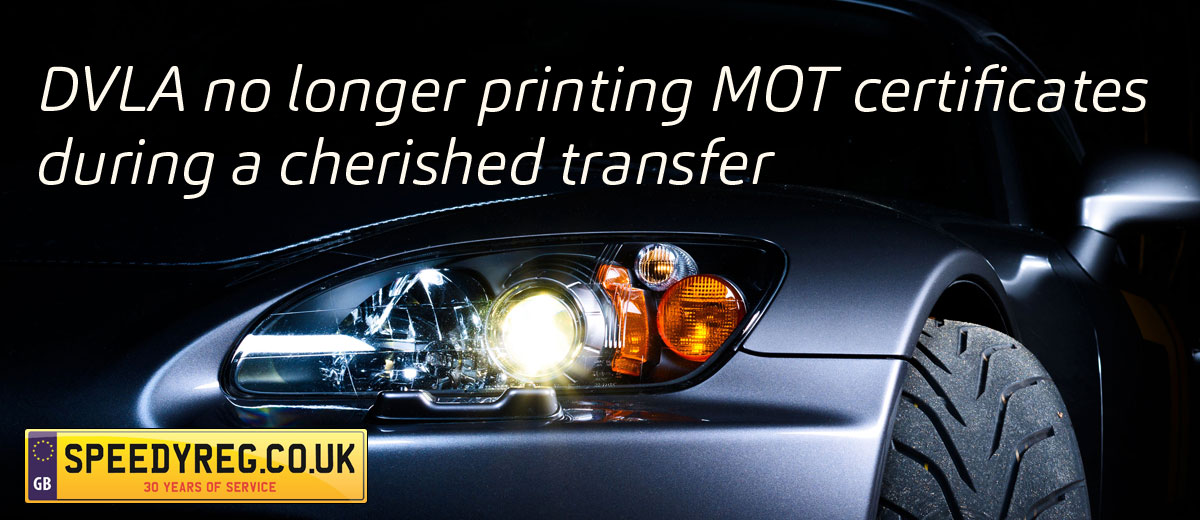 Changes To Your Mot During Cherished Transfer