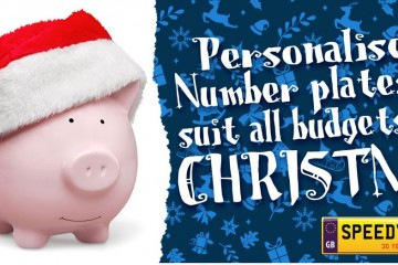 Personalised number plates to suit all budgets at christmas