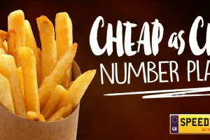 Cheap as Chips Number Plates