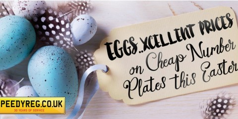 Eggscellent Number Plates