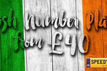irish number plates from £40