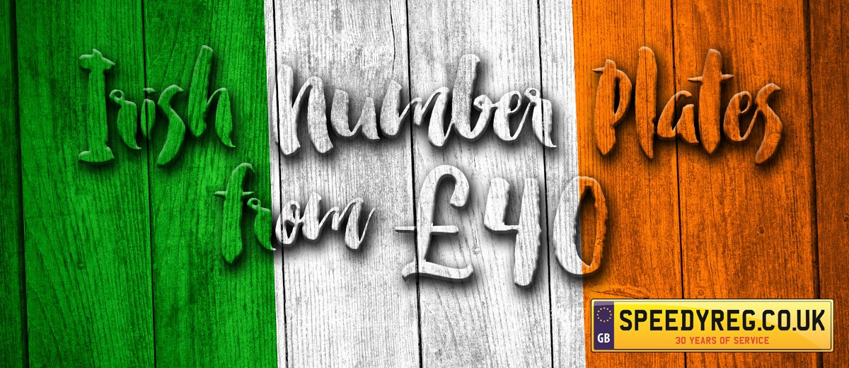 cheapest personalised number plates irish number plates. Black Bedroom Furniture Sets. Home Design Ideas