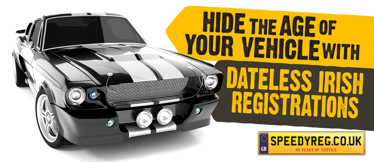 How To Hide the Age of your Vehicle? | Dateless Irish Number Plates