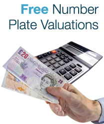 FREE Number Plate Valuations