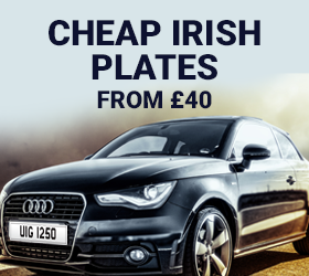 Cheap Dateless Irish Number Plates from £40
