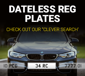 Dateless Number Plates - Clever Search Facility