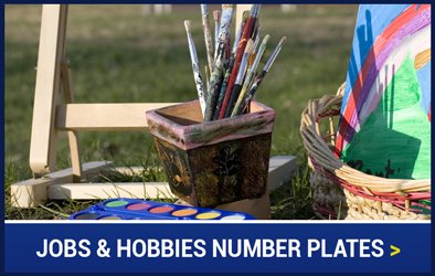 Jobs and Hobbies Number Plates