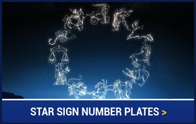 Star Sign Plates