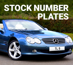 Stock Number Plates