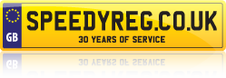 Personalised Numbers at SpeedyReg