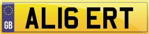 New style number plates