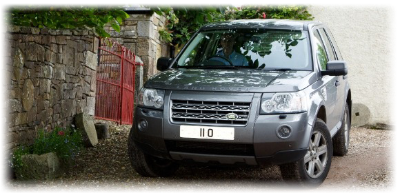 11 O Number plate