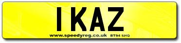 Numberplates