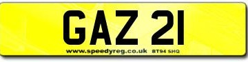 GAZ 21 Registration