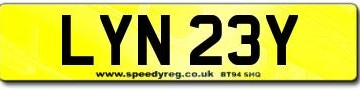 Lynsey Number Plates