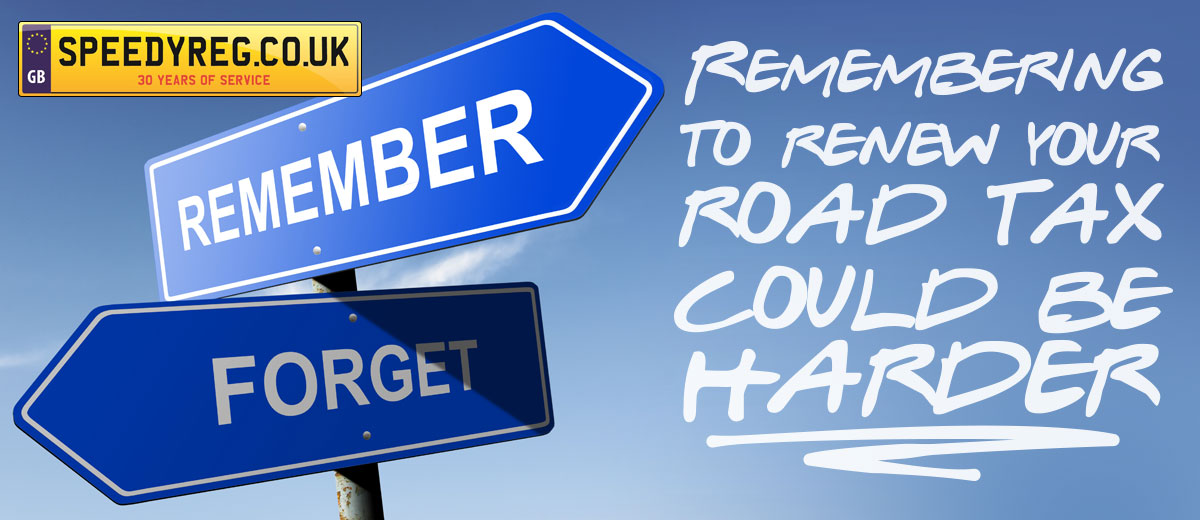 Road Tax your vehicle