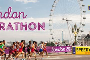 London Marathon Number Plates - Speedy Reg