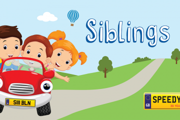 Siblings Day Number Plates - Speedy Reg