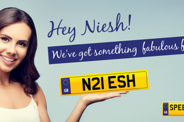 Niesh Number Plates - Speedy Reg
