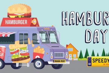 Hamburger Day Number Plates - Speedy Reg