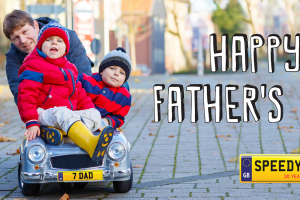 Father's Day Number Plates - Speedy Reg