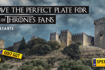 Game of Thrones Number Plates - Speedy Reg