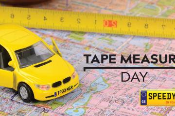 Tape Measure Day Number Plates - Speedy Reg