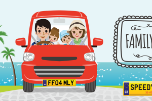 Family Day Number Plates - Speedy Reg