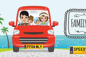 Family Day Number Plates - Speedy Reg