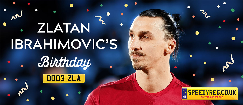 Happy Birthday Zlatan Ibrahimovic! | 3rd Oct | Gifts for Zlatan?