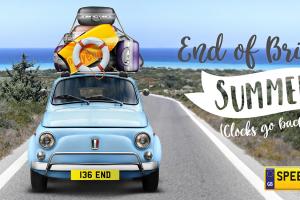 End of British Summer Number Plates - Speedy Reg