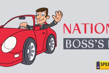 National Boss Day Number Plates - Speedy Reg