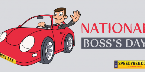 National Boss Day Number Plates - Speedy Reg